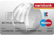 norisbank Maestro Card