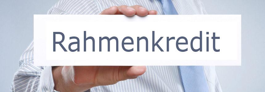 Rahmenkredit Vergleich » Günstige Abrufkredite auf dem Girokonto