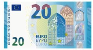 Alles neu bei der 20-Euro-Note